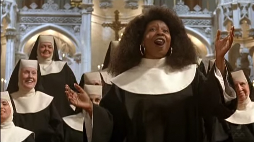 The Pope Is Here, So Let's Have a Sister Act Movie Moment