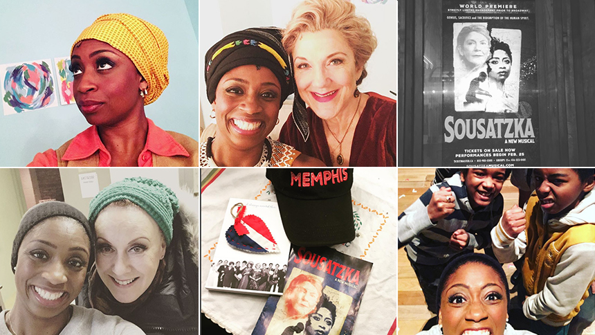 Tony Nominee Montego Glover Gives Insta Followers An All-...