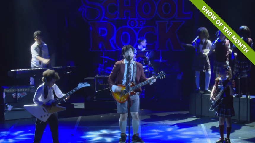 "Hot Clip of the Day: School of Rock's Kick-Ass Finale ""Te..."