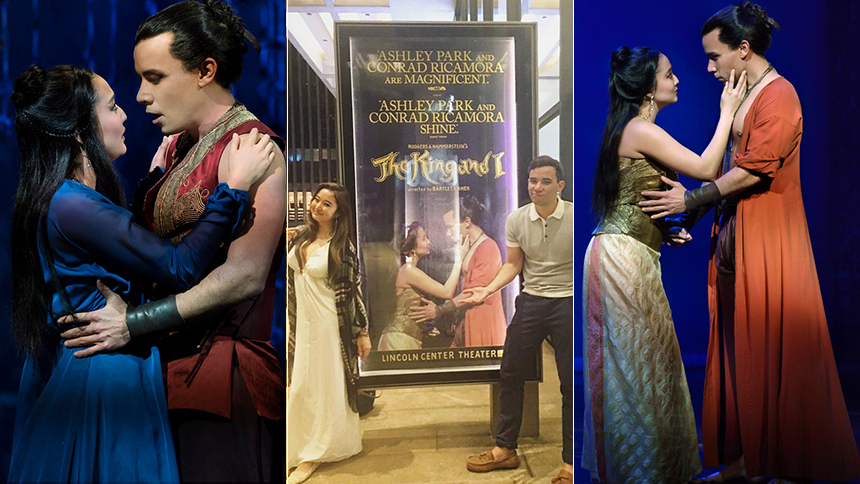 Ashley Park & Conrad Ricamora Share King and I Memories, ...