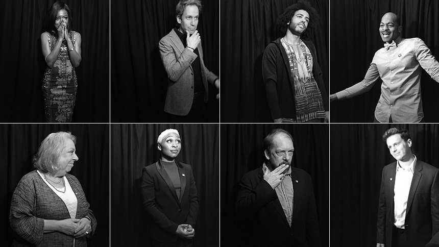 15 Black & White Snaps From the Tony Awards Press Junket