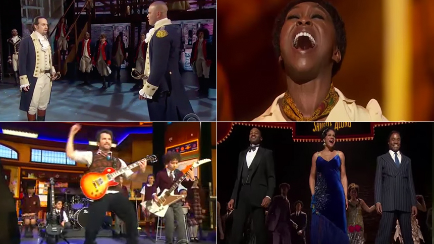 YouTube Spiral with Moments from the 2016 Tony Awards