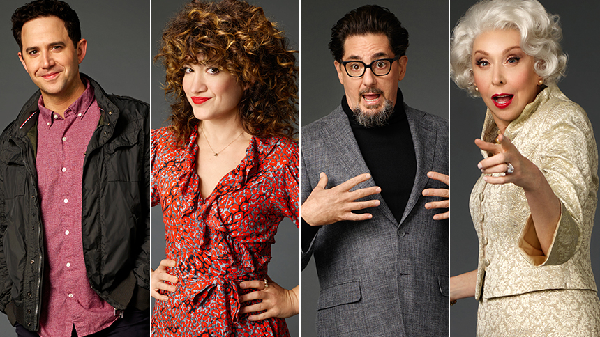 Get a First Look at the Stars of Broadway's Tootsie in Co...