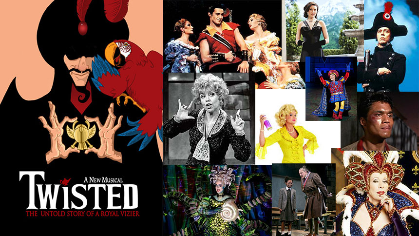 In Honor of StarKid's Twisted, 10 Other Broadway Villains...