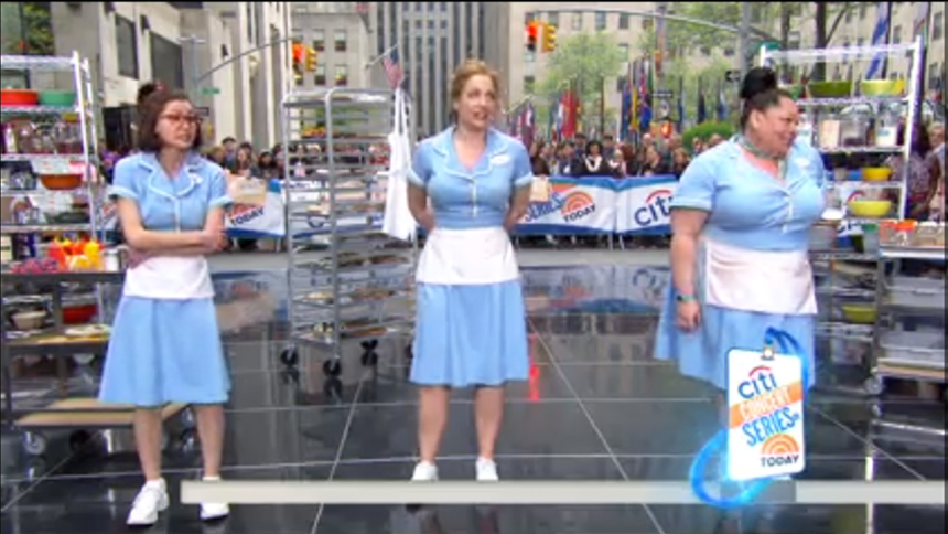 Hot Clip of the Day: Let the Waitress Cast Start Your Wee...
