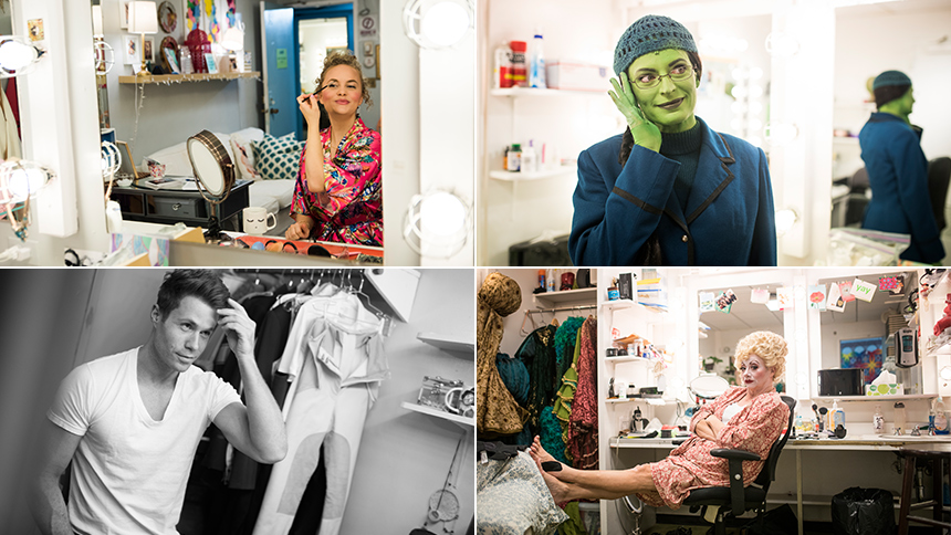 Exclusive Photos! Go Backstage at Broadway's Wicked as th...