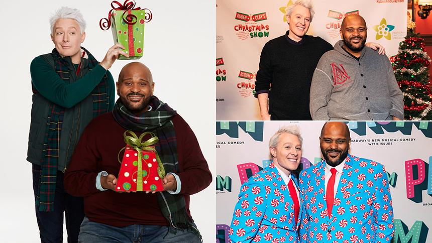 Ruben Studdard & Clay Aiken Talk Their Annual Christmas S...
