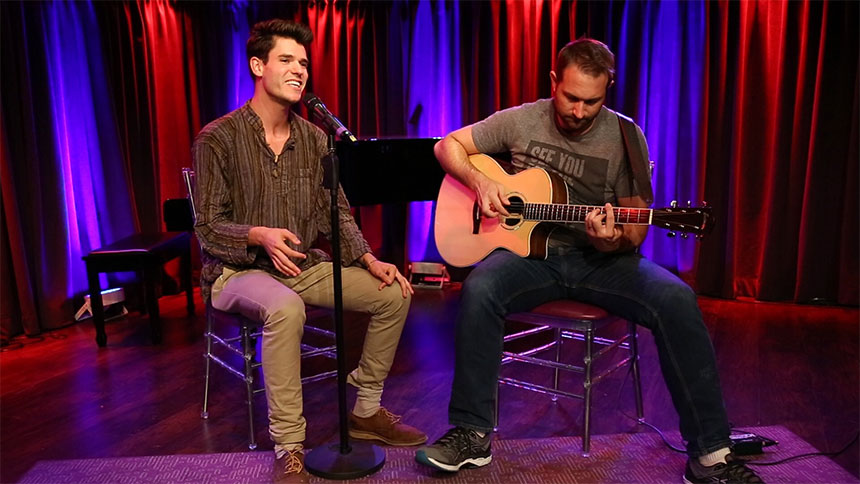 Broadway Unplugged: Chris McCarrell & Rob Rokicki Perform...