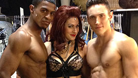 Get to Know 50 Shades! The Musical Sexy Trio, Daniel Bentley, Casey Renee Rogers & Alec Varcas