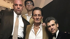 Get to Know the Guys in Sonny's A Bronx Tale Gang: Joey Sorge, Ted Brunetti, Michael Barra, Jonathan Brody, & Paul Salvatoriello