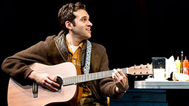 Fly By Night Star Adam Chanler-Berat Shares His Thoughts on '60s Culture, Sandwiches and Romance