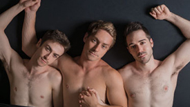 Get to Know Brandon Haagenson, Joe Chisholm, & Patrick Reilly, the Trio of Stars Heating Up Off-Broadway's Afterglow