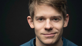 Five Burning Questions with Kris Kringle The Musical Star Andrew Keenan-Bolger