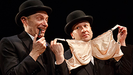 Send in 39 Steps' Dynamic Duo Arnie Burton & Billy Carter! Get to Know These Clowns Better