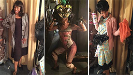 Explore the Out of This World Costumes of Bedbugs!!! The Musical Star Tracey Conyer Lee