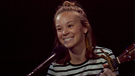 """Broadway Unplugged: Waitress' Caitlin Houlahan & Yair Evnine Perform an Acoustic """"When He Sees Me"""""""