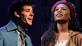 Les Miserables' Dynamic Duo Chris McCarrell & Brennyn Lark Are Giving You Tears, Laughs & Filthy Pop