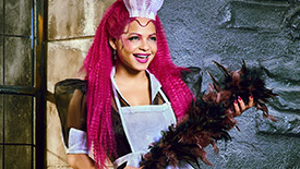 Exclusive First Look at Christina Milian as Magenta in Fox's The Rocky Horror Picture Show
