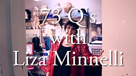 If You Only Watch One Video Today, It's 73 Questions with Liza Minnelli Starring Newsical's Christine Pedi