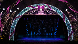 "Take A First Look at the Christmas Spectacular Starring the Radio City Rockettes Groundbreaking New Finale ""Christmas Lights"""