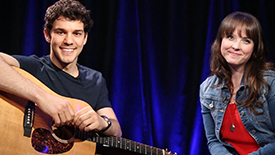 Broadway Unplugged: Marry Harry Stars David Spadora & Morgan Cowling Perform an Acoustic Love Song