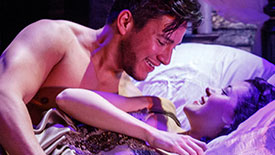 Nicholas Rodriguez & Manna Nichols Are the Sexy Couple Heating Up Off-Broadway's Death for Five Voices