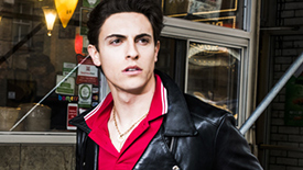 Anastasia Star Derek Klena Serves Up Stayin' Alive  Saturday Night Fever Realness