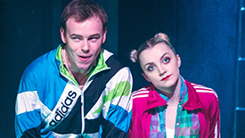 Disco Pigs Stars Colin Campbell & Evanna Lynch Talk Strange First Impressions, Intense Pre-Show Rituals, & Audience Interactions