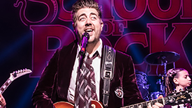 Five Burning Questions with School of Rock Star Eric Petersen