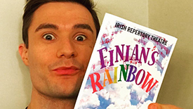 Insta Roundup! Mark Evans Takes Fans Behind the Scenes at Off-Broadway's Finian's Rainbow