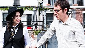 Indecent Stars Adina Verson & Max Gordon Moore Recreate Annie Hall