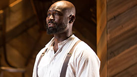 Character Creation: The Color Purple Star Isaiah Johnson Talks Finding His Mister