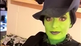 Jackie Burns Brings Insta Story Along for Her Two-Show Day as Elphaba in Broadway's Wicked