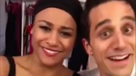 Summer, the Donna Summer Musical Star Jared Zirilli Takes Instagram Backstage For a Two-Show Day on Broadway
