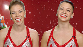 Holiday Time! Get In the Christmas Spirit with Radio City Rockettes Jessica Palu & Brittany Werthmann