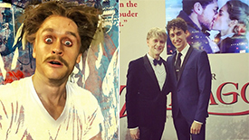 Photo & Video Roundup! Get In on All the Fun From Josh Canfield's Opening Night in Doctor Zhivago