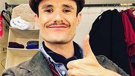 It's a Jolly Holiday as Mark Evans Brings Instagram Along for a Full Saturday at Paper Mill's Marry Poppins