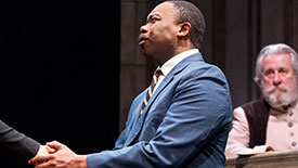 Jamil A. C. Mangan Talks Creating Dr. Martin Luther King Jr. Onstage in Martin Luther on Trial