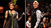 Get the Inside Scoop on Natasha, Pierre…'s Wicked Pair Amber Gray & Lucas Steele