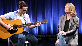 Broadway Unplugged: Paramour Stars Ryan Vona & Ruby Lewis Perform an Acoustic Love Duet