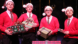 Get Into the Full-Out Christmas Spirit with the Stars of Off-Broadway's Plaid Tidings
