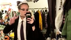 Julie Ann Earls Brings Instagram Along for a Magical Halloween Weekend at Puffs