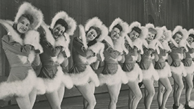 Flashback Friday: 15 Fabulous Black and White Photos of the Radio City Rockettes Through the Years