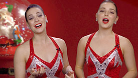 Holiday Time! Get In the Christmas Spirit with Radio City Rockettes Brittany Paige Snyder & Danielle Betscher