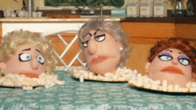 That Golden Girls Show! Puppets Recreate Iconic TV Moments as GIFs