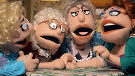 Hot Clip of the Day: Watch As Puppets Recreate The Golden Girls' Iconic Theme Song