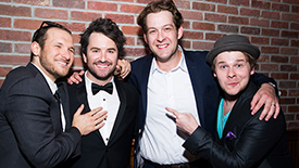 The (M)orons (Alex Brightman, Andrew Kober & F. Michael Haynie) Reveal Their First & Then Favorite Songs by Drew Gasparini