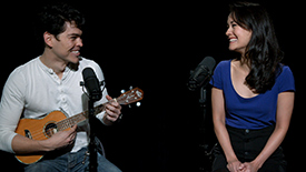 """Broadway Unplugged: The Phantom of the Opera Anniversary Stars Rodney Ingram & Ali Ewoldt Perform a Sweet, Romantic, Acoustic """"All I Ask of You"""""""