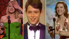 #TBT Revisit the Tony Award Wins & Speeches of Sylvia's Trio of Stars