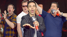Broadway Lip Sync Battle: The Jersey Boys Take On the 2016 Best Musical Nominees